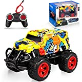 NARRIO RC Car Toys for 3 4 5 6 Year Old Boys Gifts, Remote Control Car Monster Truck for Boys Kids Toys for Girls Age 3-7 Year Old, Xmas Birthday Gifts for 3-7 Year Old Boys Toddler Toys Age 2-6