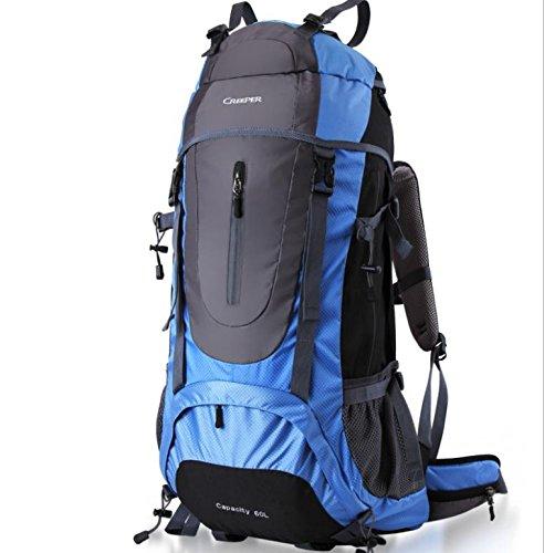 Sacs de voyage sac d'alpinisme extérieure grand voyage de randonnée sac à dos 60 l , days blue 60 liters