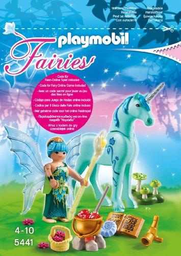 Playmobil 5441 - Heiler-Fee mit Einhorn, Nachtsaphir