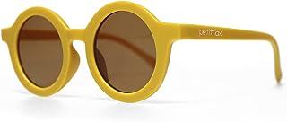 Petitmax - Gafas De Sol Niña Niño Infantil Redondas Unisex A Partir De 3 Años Hasta los 8 Años con Protección Filtro Solar UV400 UVB