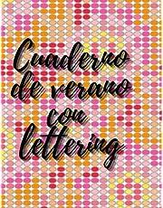 Cuader de verano con lettering