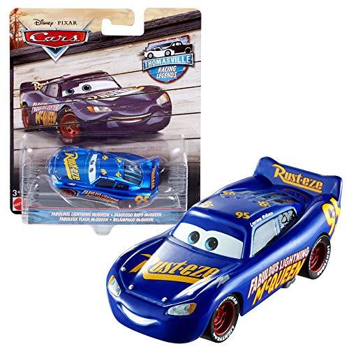 Disney Renn-Legenden | Thomasville Racing Cars | Cast 1:55 Fahrzeuge | Mattel, Typ:Fabulous L. McQueen
