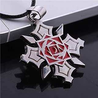 Anime Vampire Knight Yuki Cross Kuran Tattoo Symbol Cosplay Necklace Pendant