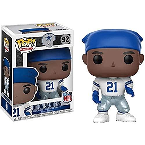 Jokoy Funko Pop Football : Deion Sanders 3.75inch Vinyl Gift for NFL Fans Chibi