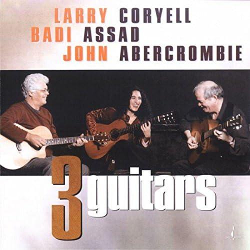 Larry Coryell, Badi Assad and John Abercrombie
