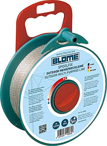 Blome 14060 Spool Fix Wäscheleine, 60m