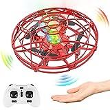 Baztoy Mini UFO Drone, Giocattoli per Bambini 3 4 5 6 7 8 Anni Elicottero Quadricottero...