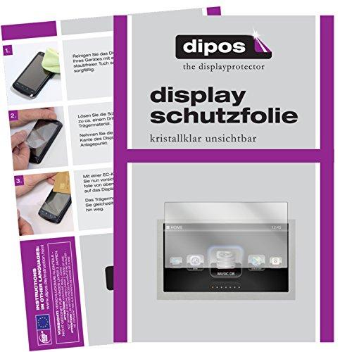 dipos I 2X Schutzfolie klar kompatibel mit Cocktail Audio X50 Folie Displayschutzfolie