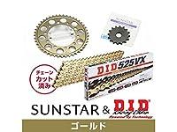 サンスター KD48503 スプロケット&チェーンキット(ゴールド) ゼファー750 ゼファー750RS