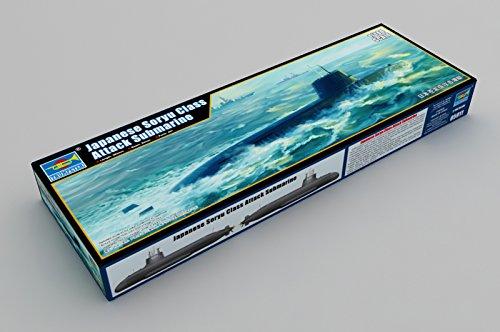 Trumpeter 005911 1/144 JMSDF Soryu Klasse U-Boot Plastikmodellbausatz, Modelleisenbahnzubehör, Hobby, Modellbau, Mehrfarbig