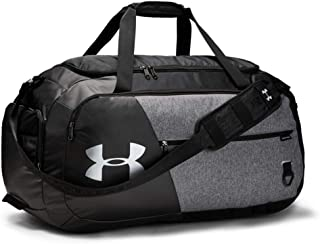 black under armour duffle bag