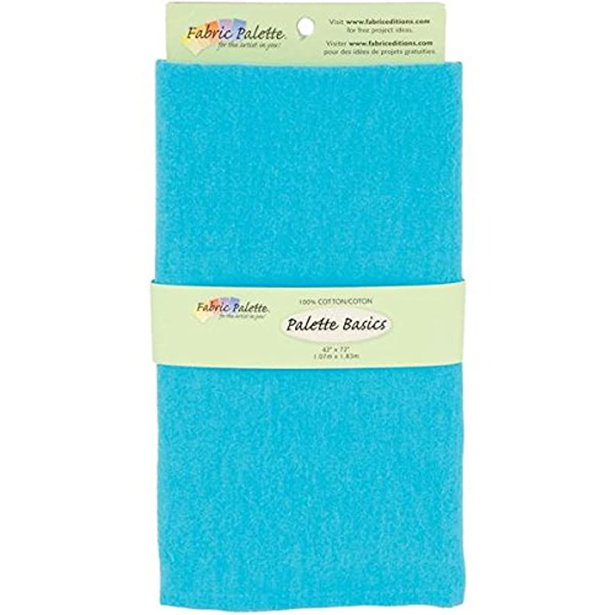 Fabric Editions 2-Yard Pre-Cut Fabric Palette, 42 by 72-Inch, Turquoise