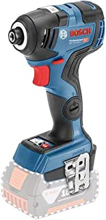 Bosch Professional 18V System GDR 18V-200 C cordless impact driver (max. torque of 200Nm, excluding rechargeable batterie...