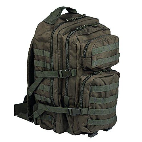 Patrol Backpack Tactical MOLLE Assault Pack 36L Olive