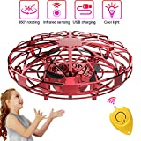 Mini Drones per Bambini e Adulti, Flying Ball Toy Controllato a Mano con Luce a...