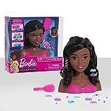 Barbie Fashionistas 8-Inch Styling Head, Black Hair, 20-Pieces