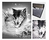 Fabelia Designer TEPPICHE Wolf Dream (160 x 230 cm)