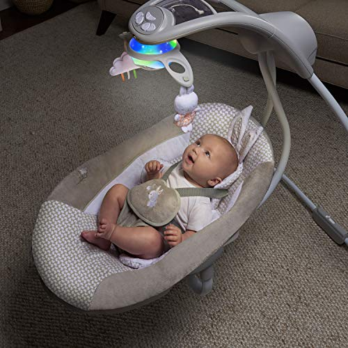 51ItNl0iVML The Best Ingenuity Baby Swings for 2021 [Compared & Review]
