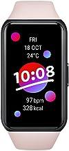 HONOR Band 6 Smartwatch voor dames en heren, 1,47 inch fitnesstracker, met hartslag- en SpO2-bewaking, 2 weken batterijduu...