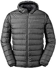 Eddie Bauer Men's CirrusLite Down Hooded Jacket, Dk Smoke Regular L