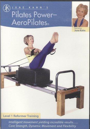 powerful The Power of Pilates by Jun Kang – AeroPilates (Level 1 Reformer Training) (DVD Format)