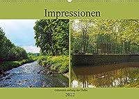 Impressionen - Guetersloh entlang der Dalke (Wandkalender 2022 DIN A2 quer): Wunderbare Momentaufnahmen entlang der Dalke in Guetersloh zwischen Fuechtei und Parkbad (Monatskalender, 14 Seiten )