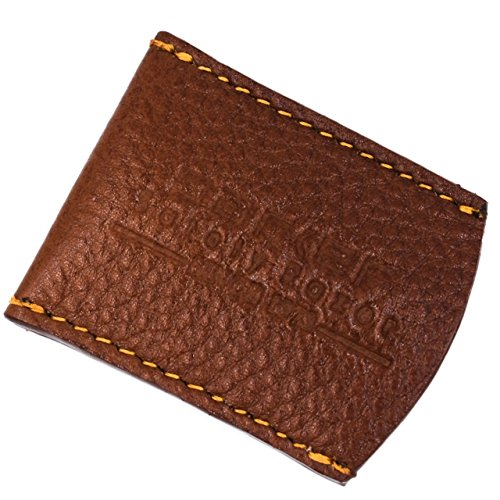 Parker Safety Razor Brown Leather Safety Razor Blade Guard