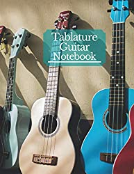 Classic Guitar Tablature: Music Journal Notation Book for Acoustic or Electric Guitar Music Notes - 150 Pages, Large Print Format 8,5 x 11 Inches