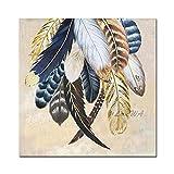 ZNYB Cuadro Decoracion Lienzo Lienzo Pintado a Mano, Pinturas al óleo, póster artístico, Pinturas al óleo Hechas a Mano, Cuadro artístico de Pared para la decoración de la Pared de la Sala de Estar
