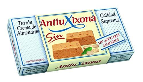 Antiu Xixona Turron crema de almendra / Soft sin azucar a adido / sin az car - 150 gr