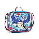 FABNY Pokemon Blue & Red School Lunch Bag