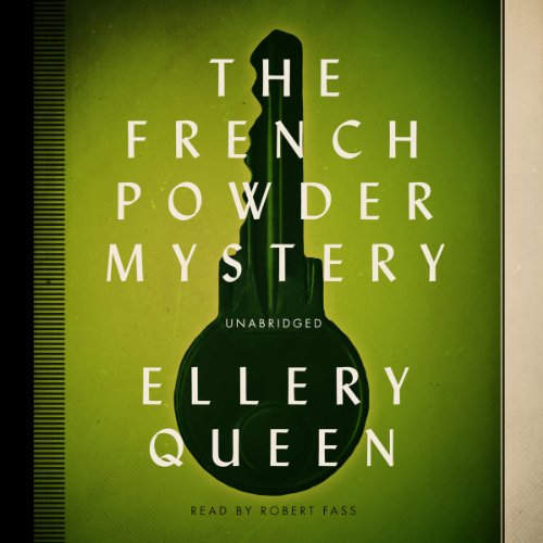 The French Powder Mystery copertina