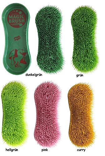netproshop Pferde Bürsten Magic Brush Gegen Hartnäckigen Schmutz, Farbe:Pink