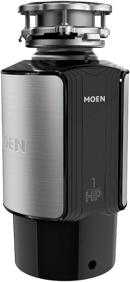 Moen GXL1000C GX Fees free!! Series 1 Popular product HP Feed Disposal Continuous Garbage P