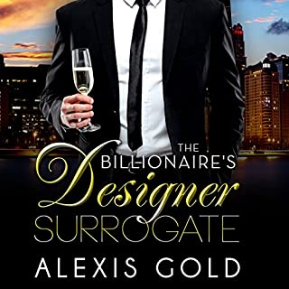 The Billionaire's Designer Surrogate cover art