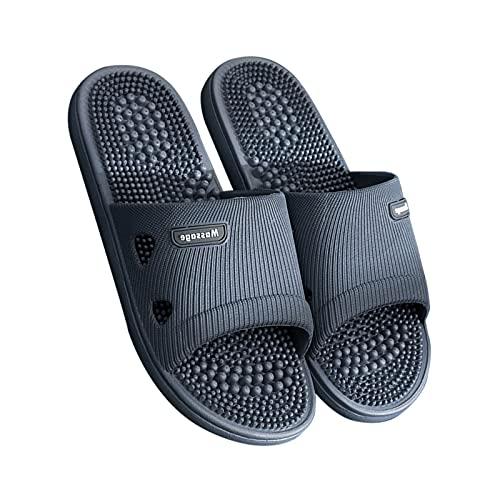pantuflas Pantuflas Zapatillas De Masásjesas Para Pies Mujer Zapatos De Interior Y Al Aire Libre Sandalias Con Soporte De Arco Soporte Zapatillas Para Hombres Mejora De Las Zapatillas De Dormitorio