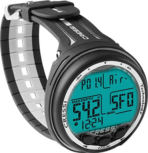 Cressi Giotto Diving Professional Computer Dual Mix, Unisex – Adulto,...