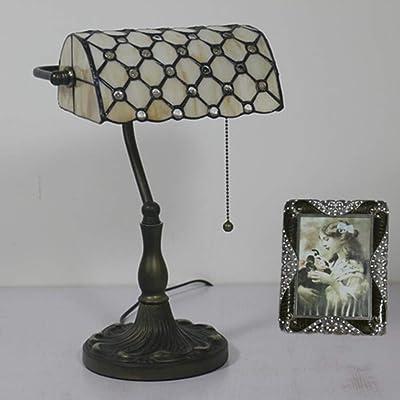 BEIBI Lámpara de Mesa LED, Escritorio Retro Lámpara de Mesa ...