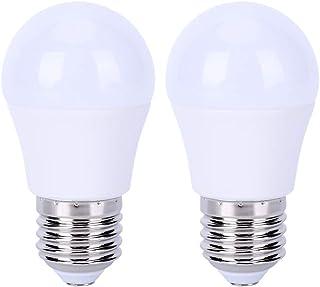 Ymiko 2PCS Bombillas LED E27 5W 5000K Bombillas Blancas de Ahorro de energía Bombillas LED no Regulables de Alto Brillo Bombilla para Dormitorio Sala de Estar