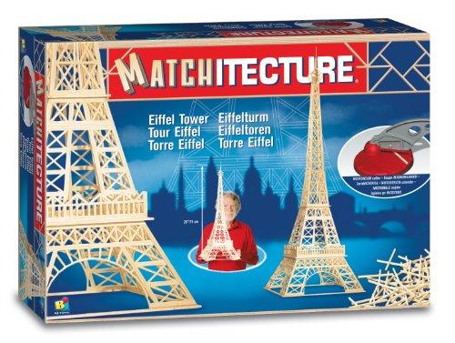 Matchitecture - Maqueta de la Torre Eiffel