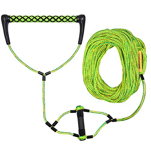 Obcursco Wakeboard Rope, Water Sport Line with EVA Handle. Ideal for Water ski, Wakeboard, Kneeboard (Wakeboard Rope 05)