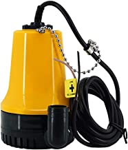Waterpomp dompelpomp DC 12 V, draagbaar, voor vuilwaterpomp, voor de diameter van de afwatering van de landbouw, vijver, 2...