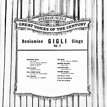 Beniamino Gigli Sings Vol. 2