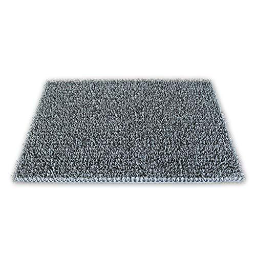 KAISER PLASTIC® Fußmatten | für außen und innen | 40 x 60 cm | Stein Grau