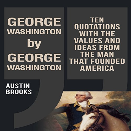 George Washington by George Washington audiobook cover art
