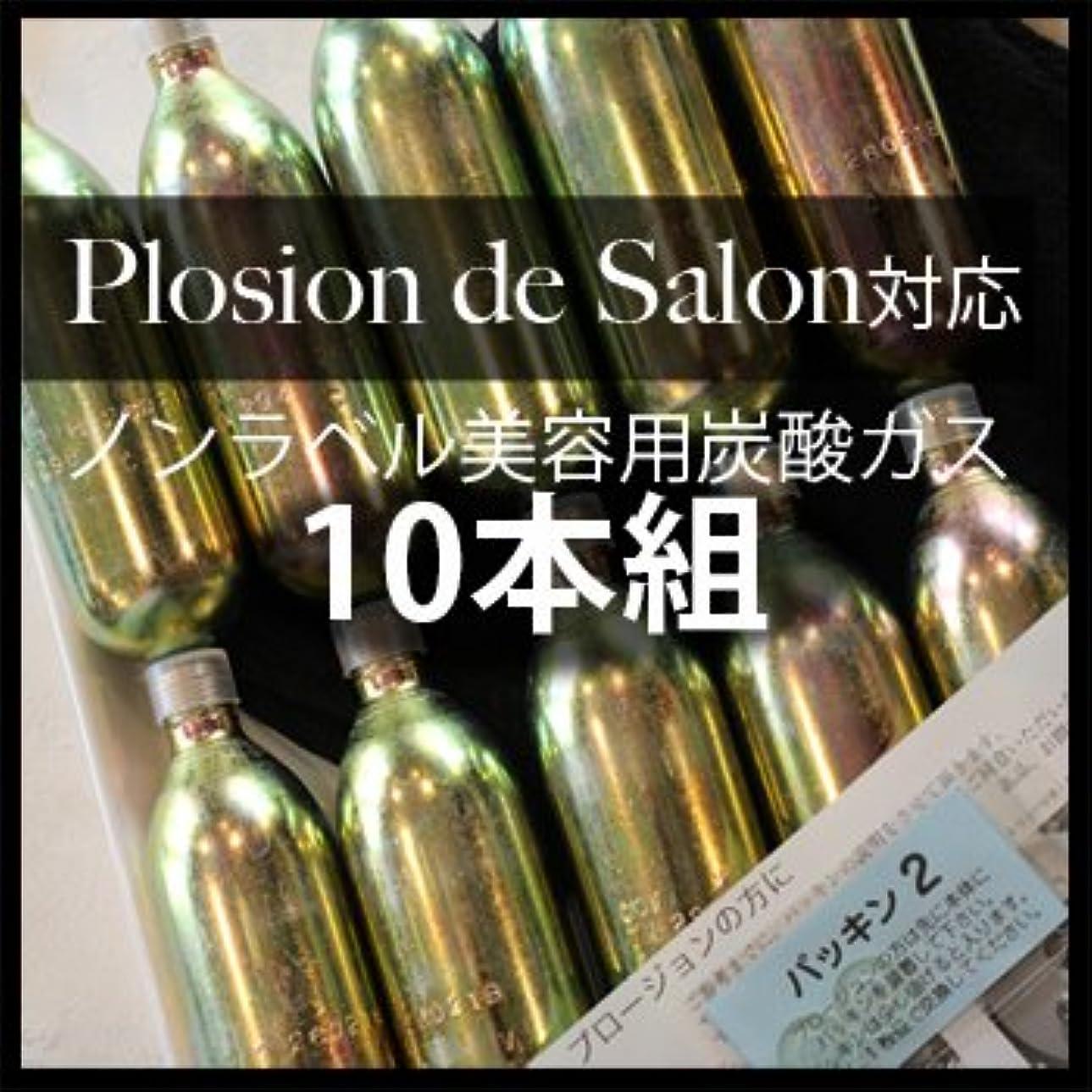 砂メッセージくぼみ炭酸ガスカートリッジ(Plosion de salon用)10本