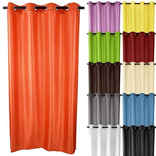 Miadomodo Tenda casa Tenda con Occhielli Tenda tendaggio Oscurante Tenda casa con Passante Colore e Dimensione a Scelta
