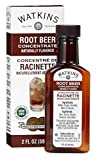 Watkins Root Beer Concentrate, 2 oz. Bottles, Pack of 6 (Packaging May Vary)