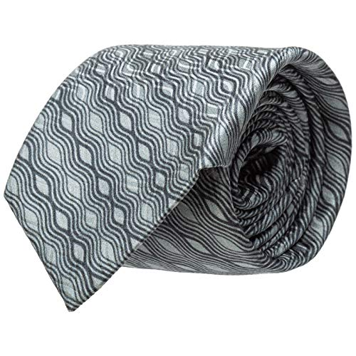 Emporio Armani cravatta uomo grigio
