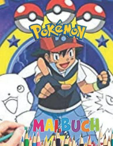 POKéMON Malbuch: POKèMON Malbuch: POKèMON-Malbuch für Kinder und Erwachsene, +60 hochwertige Seiten